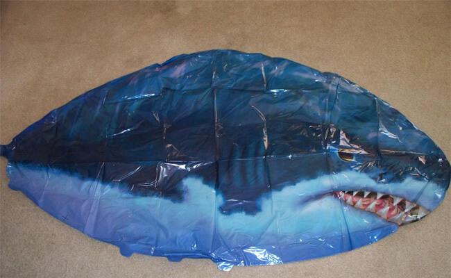 Air Swimmer Shark Instructions Body
