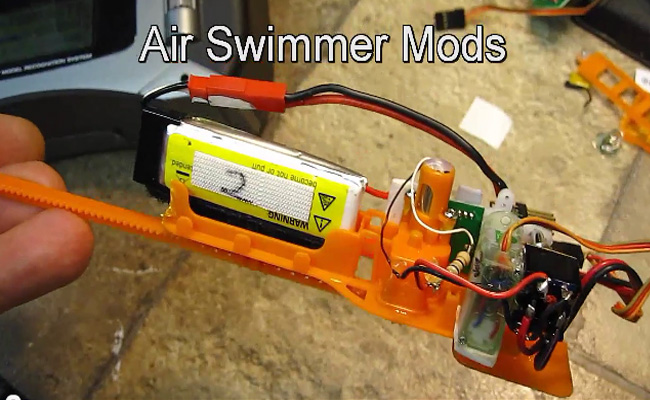 Air Swimmers Mod 2.4 Spektrum with Weight Transfer