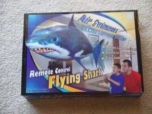 Air Swimmer Shark Instructions