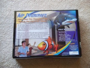 Air Swimmer Shark Instructions 2