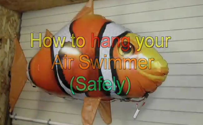 How to Hang Your Air Swimmer