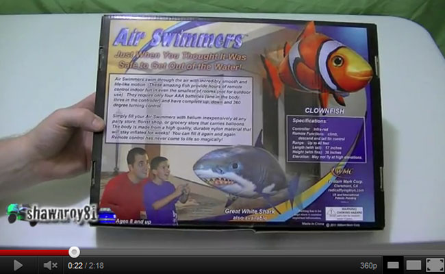 Air Swimmer Clownfish Unboxing