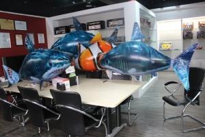 Blake English Air Swimmer Shark