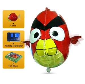 Air Angry Birds Review Stock