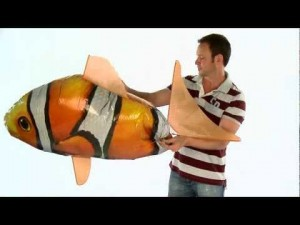 Air Swimmer Clownfish Instructions Assembly