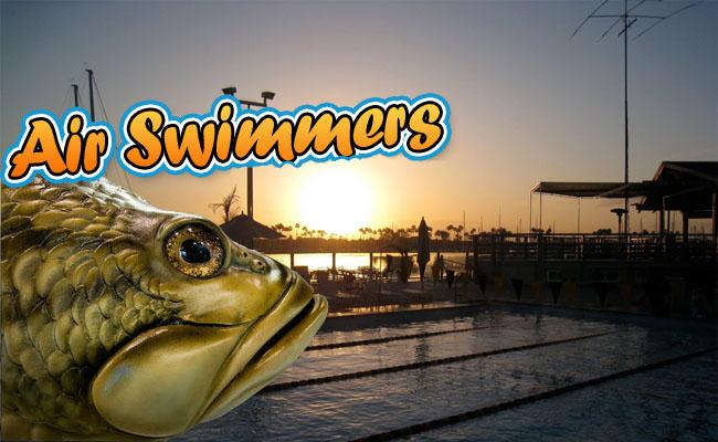 Air Swimmer Sea Bass