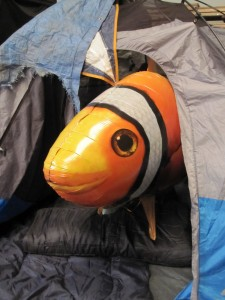 Air Swimmers Videos Tent