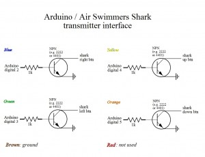Arduino Air Swimmer Shark SVG