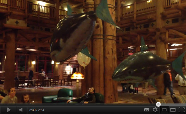 Air Swimmers Wilderness Lodge Hotel