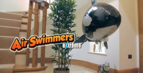 Air Swimmers Whale Toy