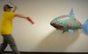 Air Swimmers Zombie Shark Thinkgeek