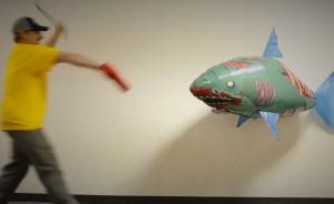 Air Swimmers Zombie Shark Thinkgeek