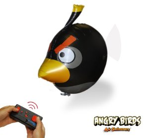 Black Angry Bird Air Swimmer